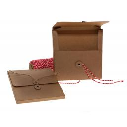 Square String Tie Boxalopes x 50