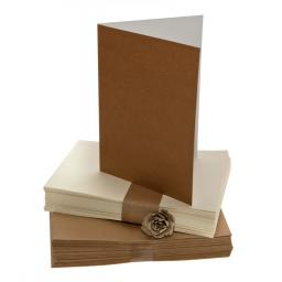 A4 Folded Cards with Matching Envelopes ( pack of 50)