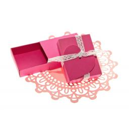 Matchboxes Cerise Pink mini pack of 50