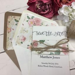 In Love Collection - Save the Date