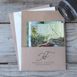 Photography Pockets x 50 Brown Kraft Card