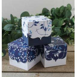 China Blue Favour Boxes x 10