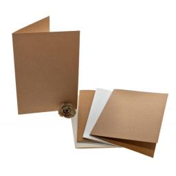 A4 folded Cards ( A5 size when folded) pack of 50 no envelopes