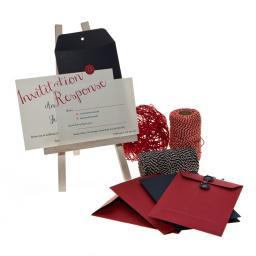 C6 RED String Tie Envelopes x 25