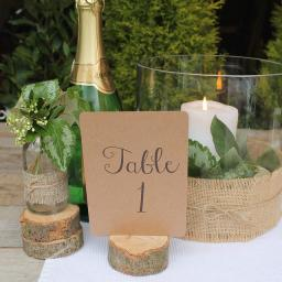 Table Numbers ( A6) numbers 1 -12