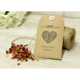 Seed packet String Tie Envelopes C7 x 25
