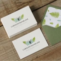 250 business cards - full colour - double sided - texture card