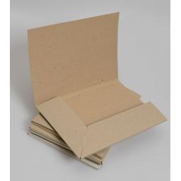 A4 Brown Kraft card Presentation folder (pack of 25)