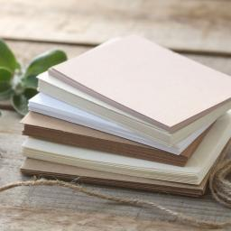 Recycled Kraft postcards A6 pack of 50 ( 300gsm)