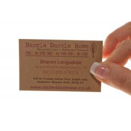 250 business cards - full colour - double sided