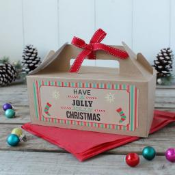 Christmas Gift Box - Jolly Christmas