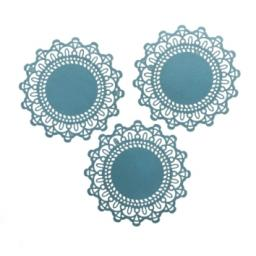 Pale Blue paper doilies ( pack of 10) 12cm wide