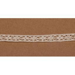 White Crochet lace 7mm width