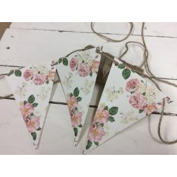 Old Country Rose Bunting