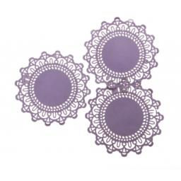 Pale Lilac paper doilies ( pack of 10) 12cm wide