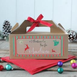Christmas Gift Box - Personalised Christmas Eve with name