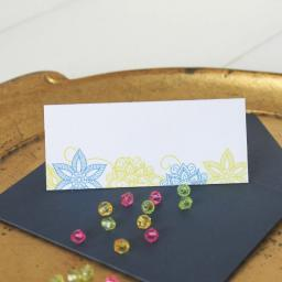 Darjeeling Design Place Cards x 50