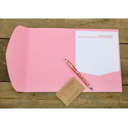 C6 Presentation folder with wraparound flap (pack of 10)