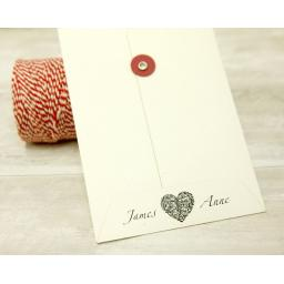 ADD PRINT OPTION TO STRING TIE ENVELOPES