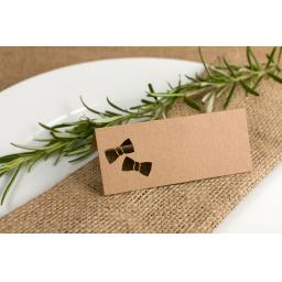Place cards -Bow tie x 50