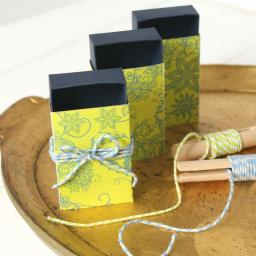 Darjeeling Design Matchboxes x 10