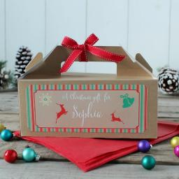 Christmas Gift Box - Personalised Christmas GIFT with name
