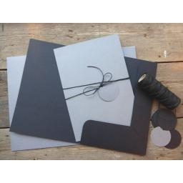 A5 card Presentation folder (pack of 10) all colours