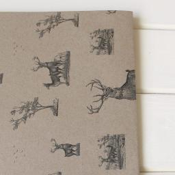 Vintage Stag Wrapping Paper