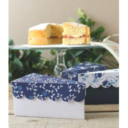 China Blue Cake Boxes x 10