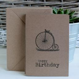 Vintage Bicycle Greeting cards