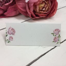 Old Country Rose Placecards