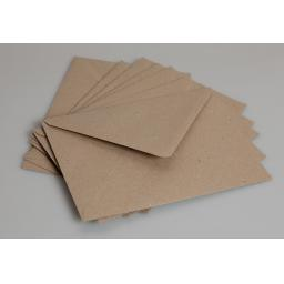 50 x DL Brown Kraft Envelopes