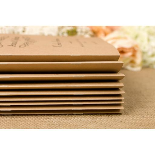 Wheatgrass Wedding - Order of service booklets x 50