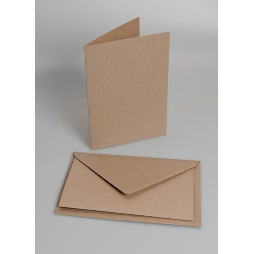 A7 Folded Card Blanks (pack of 50) with matching envelopes