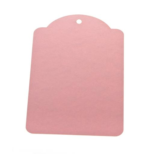 Extra Large pale pink luggage tags x 25 with envelopes