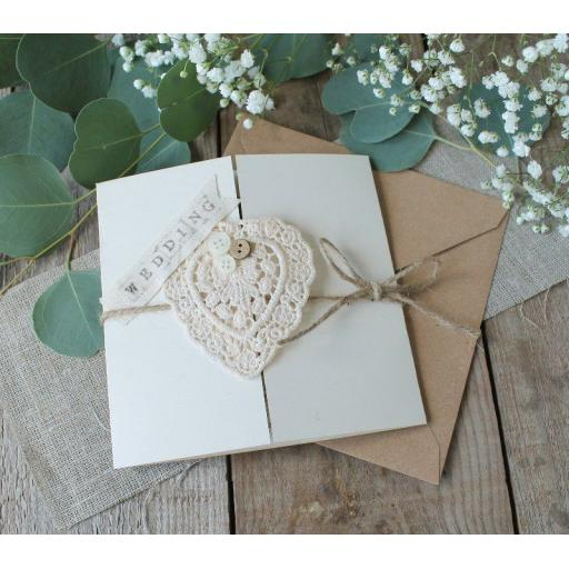 6 x 6 inch Gatefold cards kits with matching envelopes (25 pack)