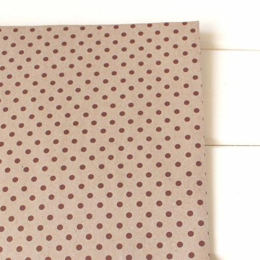 Vintage Dotty RED Wrapping Paper