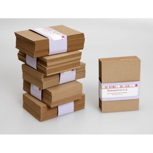 ATC Kraft Card blanks 300g (pack of 50)