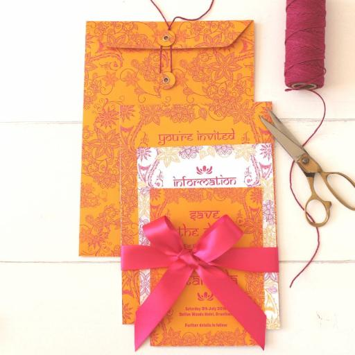 C5 Taj Mahal Collection String Tie Envelopes x 10
