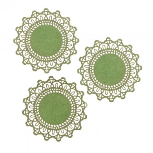 Pale Mint paper doilies ( pack of 10) 12cm wide