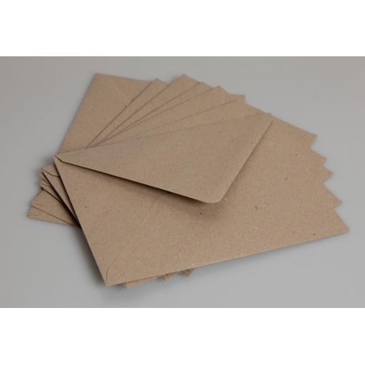 50 x C5 Brown Kraft Envelopes