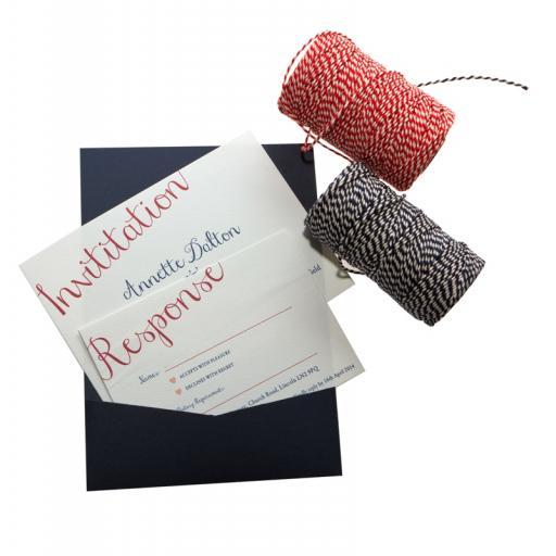 Elegance Collection - RSVP Wedding Invitation cards x 50