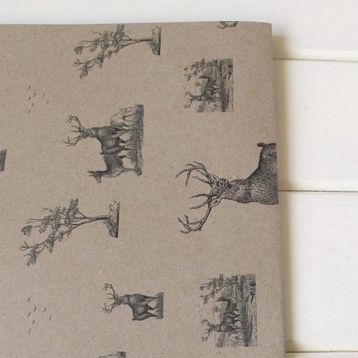 Vintage Stag Notelets & Envelopes x 10