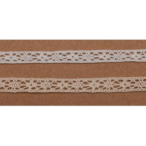 Vintage Cream Crochet lace 7mm width