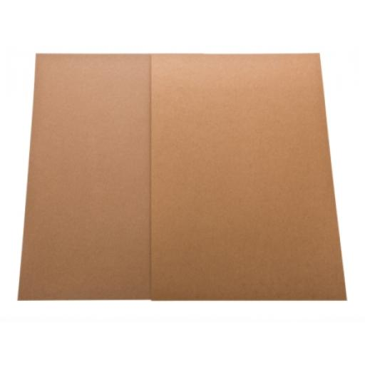 100 Pack A4 Recycled Kraft Card (275gm)