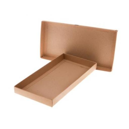 DL brown kraft presentation box x 10
