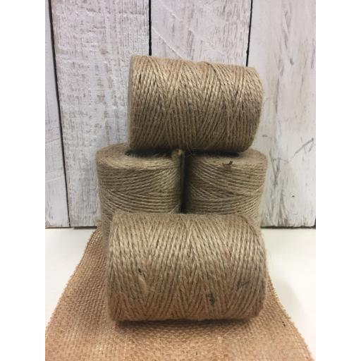 natural twine - 4 full rolls!