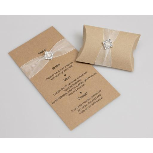 DL size card blanks with matching envelopes (pack of 50)