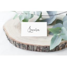 Personalised Calligraphy Place Cards x 50