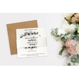 Eucalyptus Invitation - full set x 25